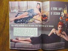 1957 TV Guide(DEBRA  PAGET/JEFF'S  COLLIE/LASSIE/THOMAS MITCHELL/LUGENE SANDERS