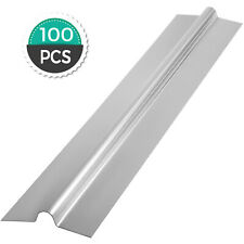 Aluminum Radiant Floor Heat Transfer Plates For 38 Pex Tubing 4ft 100pcs