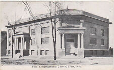 Crete,Nebraska,First Congregational Church,Saline County,Used,1911