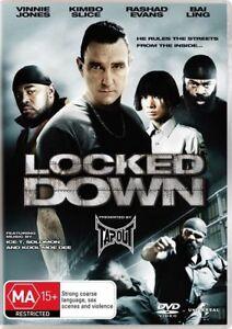 Locked Down DVD Vinnie Jones ACTION