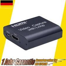 4K HDMI Video Game Capture Card Videoaufnahme Für Switch Ps4 Netzklasse Live