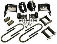 Spring Mounting Kit, 1976-1986 Jeep CJ Models (Ft/Rear)