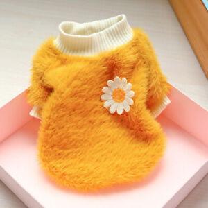 New Xmas Pet Dog Jacket Clothes Cute Cartoon Warm Fleece Puppy Cat Coat Costumes