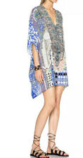 New £499 Camilla Franks Courtyard Of Maidens Lace Front Kaftan One Size O/S