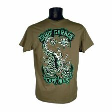 SCORPION BAY - T-shirt uomo MTBS3381 - 8355 - Colore Verde - Taglia 3XL