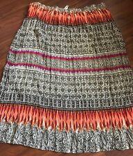 CJ Banks Elastic Waist Skirt Women's 2X