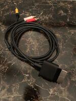 OEM Official Microsoft Xbox 360 AV Cable Hookups *SHIPS SAME DAY*