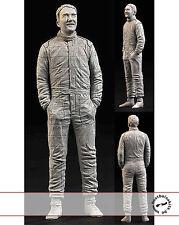 1/20 NIGEL MANSELL STANDING FIGURE inc DECALS for FUJIMI FERRARI WILLIAMS HIRO