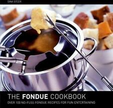 The Fondue Cookbook, Steer, Gina, Good Book