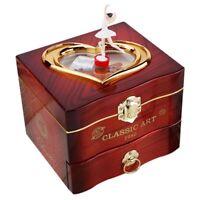 Caja de Música Bailarina Bailando Caja de Joyería de Plástico Caja de Música SG8