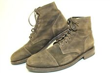 Thursday Boot Co 18025 Mens 11.5 Leather Cap Toe Lace Up Ankle Fashion Boots
