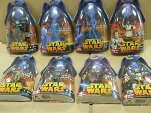 BNIB Job Lot of Star Wars Carded Figures