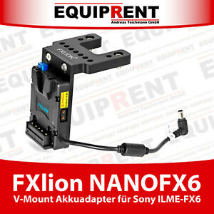 FXlion NANOFX6 mini V-Mount Akkuadapter 19.5V für Sony ILME-FX6 (EQR41)