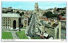 Postcard Bristol Park Street Somerset