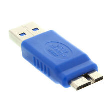 1pcs Standard USB 3.0 Type A Male to Micro B Male Connector Converter Adapter