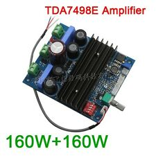 TDA7498E 160WX2 digital stereo amplifier board PBTL 220W mono channel 24v-36v