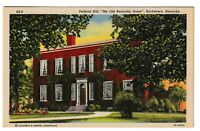 Unused Postcard Federal Hill My Old Kentucky Home Bardstown KY