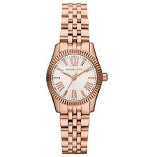 Relojes de pulsera baterías Michael Kors oro rosa