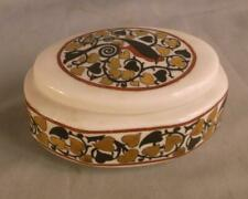 FRAUREUTH PORCELAIN OVAL TRINKET BOX HEARTS GERMANY