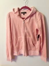 Juicy Couture Womens' Pink Track Suit Hoodie Jacket-Size L