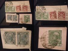 Orig. Timbres Autriche République Tchèque Bohême Cheb 1922 5 HELLER 1908 Empereur marque
