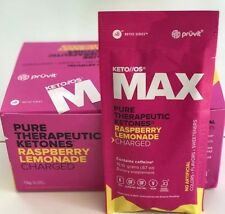 Keto OS Max Raspberry Lemonade By Pruvit 20 OTG Packets (Charged)