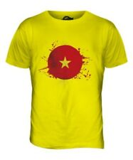 Vietnam Football Hommes T-Shirt Haut Giftworld Bonnet Sport