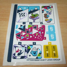 Lego Friend - 1x Aufkleben-Sticker Bogen für 41319