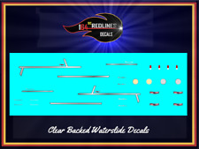 1/64 '55 Chevy Trim Custom Metallic Decal SCR-0700M
