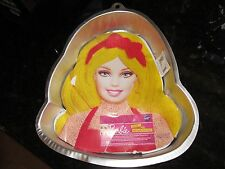 Wilton Barbie Face Cake Pan Instructions Included Baking Cooking Dish Doll