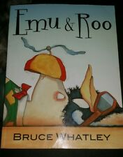 Emu and Roo by Bruce Whatley Large Paperback