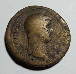 Hadrian 117-138 AD Bronze Sestertius