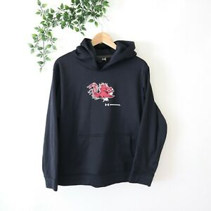 USC Gamecocks Under Armour Youth Hoodie Size YXL Youth Extra Large Black