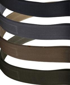 "**USED** Blue Alpha 1.5"" Hybrid COBRA® EDC Belt - Black, Gray, Brown, OD Green"