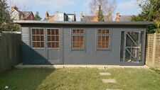 Summer House. &  dog kennels 20x8ft   ERECTED FOR FREE.   double glazed optional