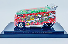 Hot Wheels Liberty Promotions Christmas Mad Dasher VW Drag Bus #0083/1200 New