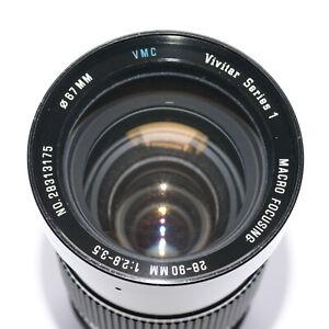Vivitar Series 1 28-90mm f2.8-3.5 Olympus OM mount zoom lens USED CONDITION