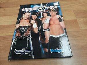 🌟WWE 2008 Annual Wrestling magazine Undertaker, Cena, Orton, Wrestlemania 23🌟
