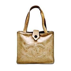 Chanel Tote Bag  Beiges Nylon 1429733