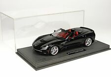 BBR 2014 Corvette Stingray Cabrio Black Deluxe W/CASE 1:18 Almost Sold Out*Rare!
