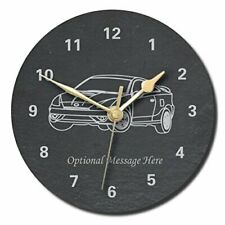 Celica Design Slate Clock - Personalised with text of your choice (Large (300...