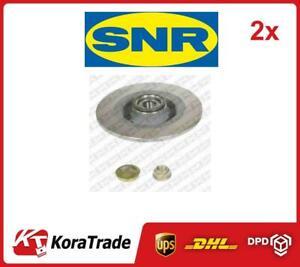 2x OE QUALITY BRAKE DISC SET KF15581U SNR P