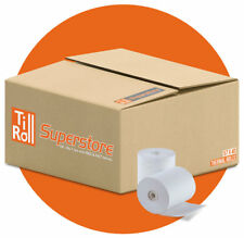 More details for 100 x 57x40 thermal credit card machine rolls | fast del - 10% off with muli-buy