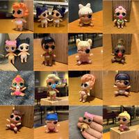 5PC Real LOL Surprise Confetti Pop Dolls LIL SISTERS Lil Dusk & Dawn Doll Figure