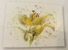 Bree Merryn Canvas Cuties Lemon Lily Flower Floral