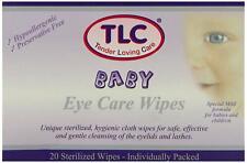 TLC Baby Eye Care Wipes 20 Sterilized Wipes