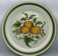 """Stangl Hand Painted Apple Delight 12"""" Platter / Chop Plate Oven Proof"""
