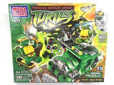 Very Rare Mega Bloks Teenage Mutant Ninja Turtles Battle Shell Bridge New