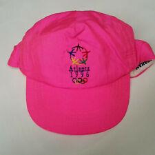 Atlanta 1996 Olympics Pink Baseball Cap Hat
