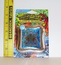 ED HARDY OCEAN SCENTED OIL AIR FRESHENER PEACE SIGNS NEW IN PACKAGE